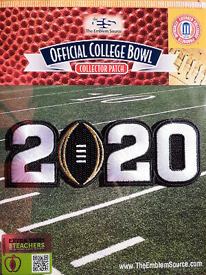 Official NCAA College Football 2020 CFP Championship Game Patch LSU - Clemson