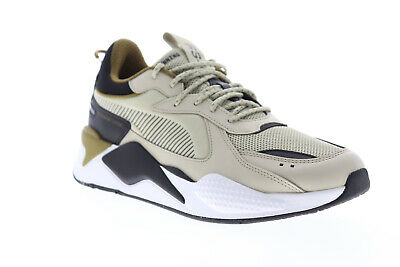 Puma RS-X Core 36966606 Mens Beige Mesh Lace Up Low Top Sneakers Shoes