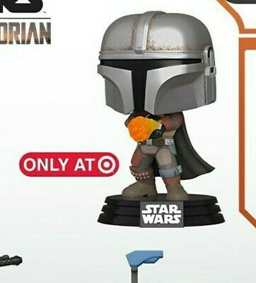 Funko - Mandalorian with Flamethrower Target Exclusive Preorder - protector