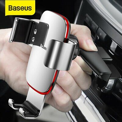 Baseus Gravity Car Phone Holder CD Slot GPS Stand for iPhone 11 Pro Samsung S10