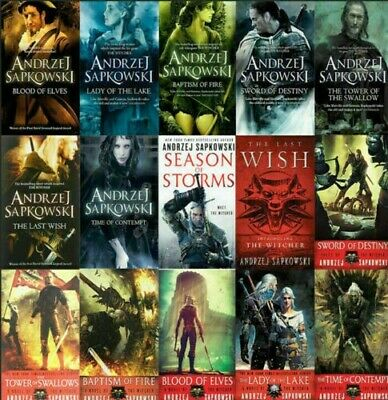 The Witcher Complete Series Andrzej Sapkowski include P-D-F  EPUB Audio book