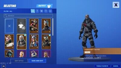 fortnite account With Twitch Prime Skins - More