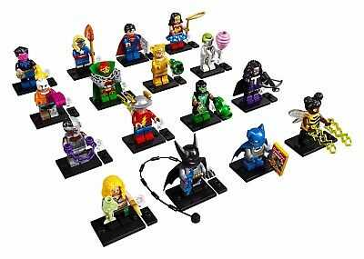 Lego DC Super Heroes Complete Set of 16 Minifigures 71026 - SEALED ON HAND