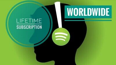 Spotify Premium  Upgrade Existing Acc Or New Private Acc  Lifetime  Worldwide