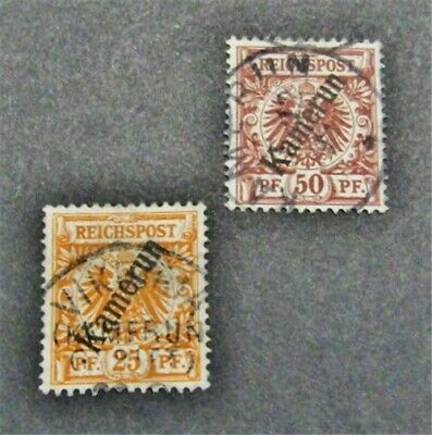 nystamps German Cameroun Stamp  5 6 Used 76