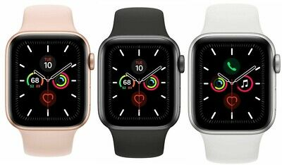 Apple Watch Series 5 40mm 44mm GPS - Cellular 4G LTE Gold Space Gray Silver