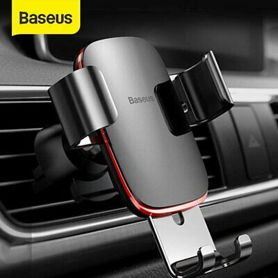 Baseus Air Vent Mount Gravity Car Phone Holder Stand for iPhone Samsung Google