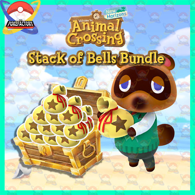 Animal Crossing New Horizons 🏠 Stacks of Bells Bundle 🛫 Fast Delivery 🚚 Nook