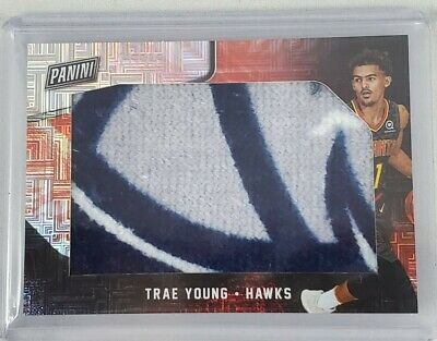 2018 Panini Black Friday Trae Young Rookie Towel Patch 2125 Hawks