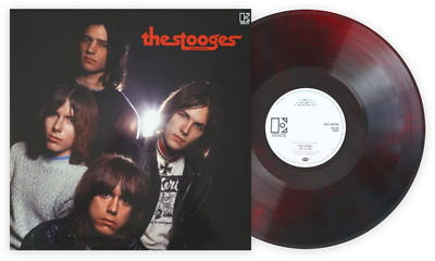 The Stooges John Cale Mix Exclusive Club Edition Red - Black Marble Vinyl LP