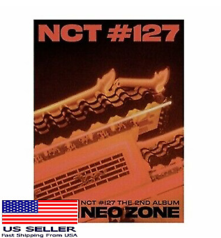 US SHIPPING NCT 127-NCT 127 Neo Zone 2nd Album T Ver KpopMusicDepot