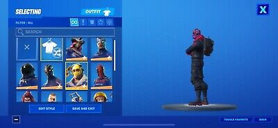 fortnite account rare skins will give credentials once bought