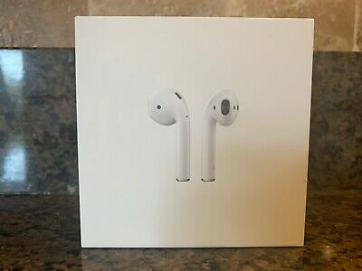 Apple AirPods 2nd Generation with Charging Case MV7N2AMA - White - A- Free Ship