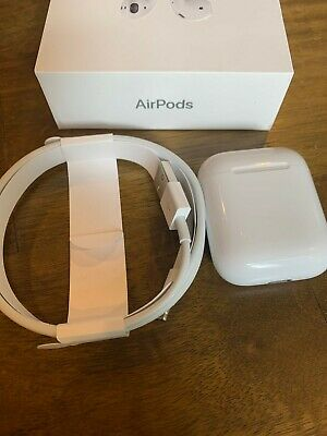 Apple AirPods 2nd Gen Charging Case with Authentic Apple Lightning USB Cable 3ft
