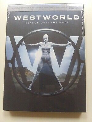 Westworld The Complete First Season DVD 2017