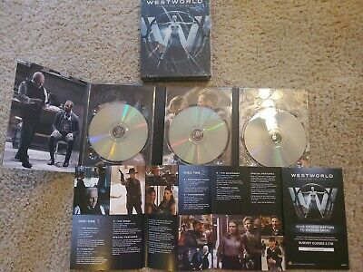 Westworld The Complete First Season DVD Disc 2016
