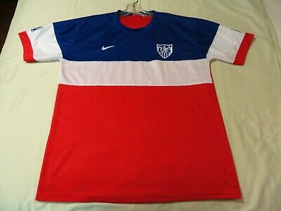 Mens XL Nike USA National Team 8 DEMPSEY 2014 World Cup Soccer Jersey