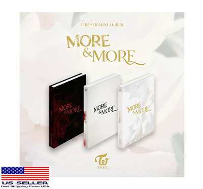 US SHIPPING TWICE -  MORE - MORE  9th Mini AlbumKpopMusicDepot