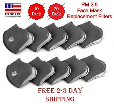 Face Mask Replacement Filters 51020 5-Layers Activated Carbon Filters