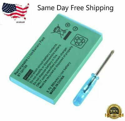 New Rechargeable Battery for Nintendo Game Boy Advance SP Systems - Screwdriver