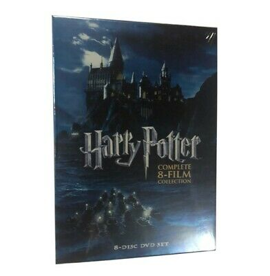 Harry Potter Complete 8-Film Collection DVD 2011 8-Disc Box Set New Sealed