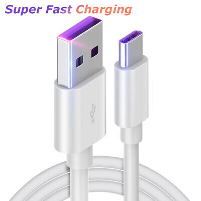 Fast Type-C USB 3-1 Charger Charging Cable Data Sync For Samsung Huawei 1M