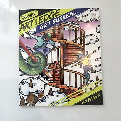 Crayola Art With Edge Get Surreal Coloring Book