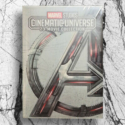 MARVEL STUDIOS CINEMATIC UNIVERSE 23-MOVIE COLLECTION 12-Disc DVD Fast shipping
