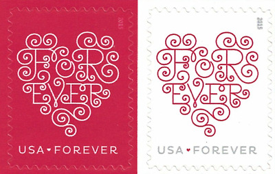 LOVE HEARTS USPS FOREVER POSTAGE STAMPS 15 Panes of 20 300 stamps USA