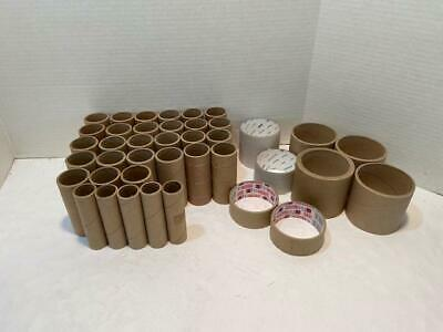 HOBBY TUBES ASSORTED THICK CARDBOARD