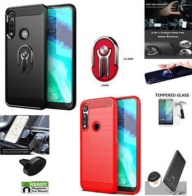 Phone Case For Moto G Fast 6-4  G-Fast Case Brush Textured Cover