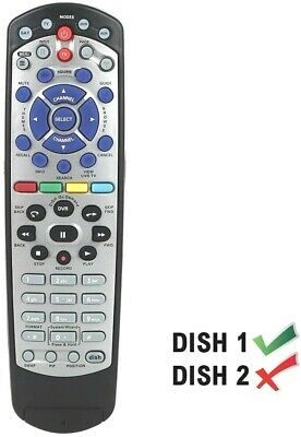 Learning Remote Fit for 20-1 IR TV1 Dish Network TV 211 222 311 612 351