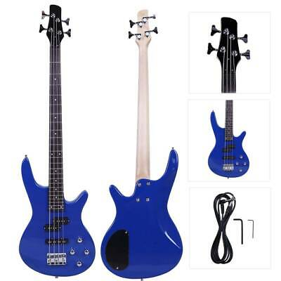New Blue 4 Strings Electric IB Bass Guitar