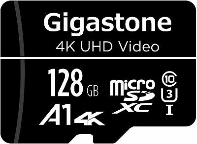 Gigastone 128GB Micro SD Card A1 Run App Smartphone Nintendo Switch Compatible