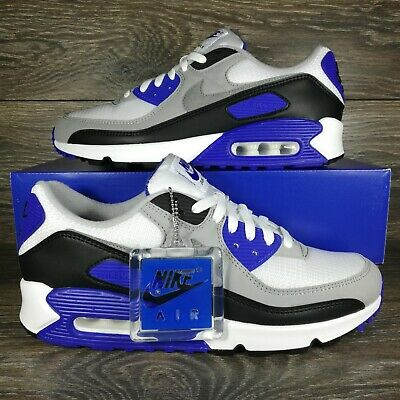 Nike	Air Max 90 Recraft Hyper Royal Blue Sneakers CD0881-102 Mens Sizes