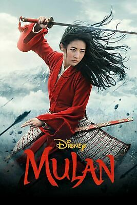 Mulan 2020 New Movie DVD LIVE ACTION W REAL POEPLE
