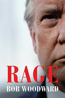 Rage HARDCOVER 2020 by Bob Woodward Brand New