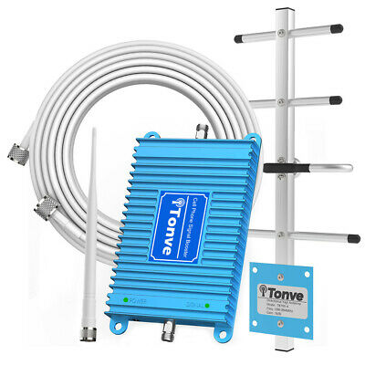 Cell Phone Signal Booster GSM WCDM LTE 850MHz1900MHz Band 25 Repeater for Home