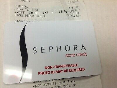 Sephora Gift Card  in store use 88