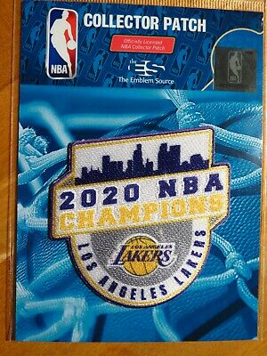 NBA Los Angeles Lakers 2020 NBA Championship Patch 1 FREE Shipping