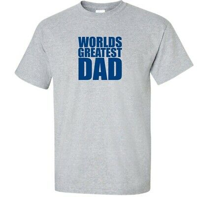 FATHERS DAY Worlds Greatest Dad T-Shirt Gift