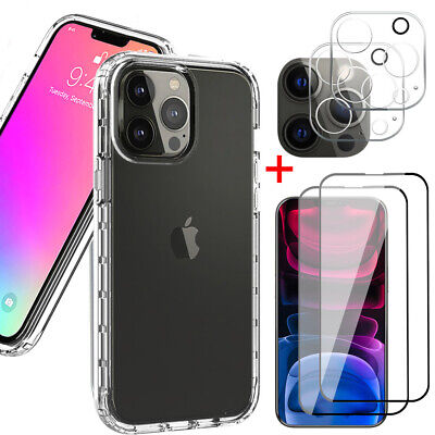 For iPhone 12 Pro12 Pro Max Clear Case -Screen Protector-Camera Lens Protector