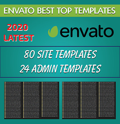 Premium Best Top 80 Site - 24 Admin Templates Collection 2020 New Latest Relase
