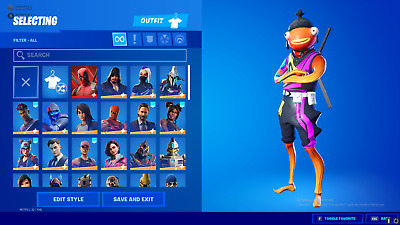 ✅⚡ forttnite ACCOUNT 80 SKIN ✅Full acces✅ 100 legit✅
