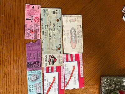 Cincinnati Reds Tickets Lot of  7