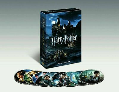 NEW Harry Potter Complete 8-Film Collection DVD Set Ships in 1 Business Day