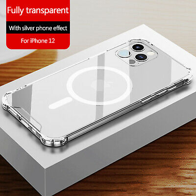 Clear Case Authentic MagSafe Cover For Apple iPhone 12 Pro Max12 Mini12 Pro12
