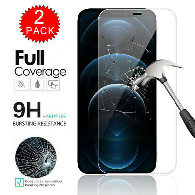 For iPhone 12  Pro  Max 12 Pro Max Full Cover Tempered Glass Screen Protector