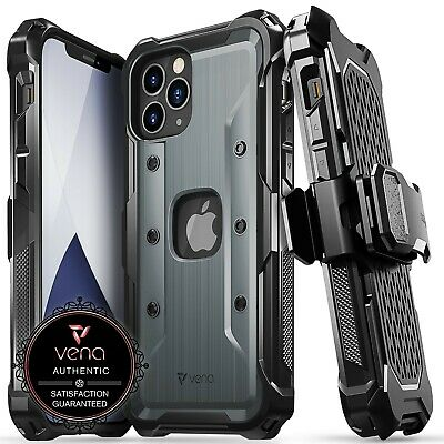 Vena vArmor Shockproof Heavy Duty Holster Belt Clip Case for iPhone 12 Pro Max