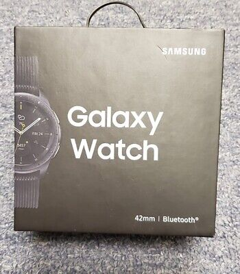 Samsung Galaxy Watch SM-R810 42mm Bluetooth Midnight Black Pristine